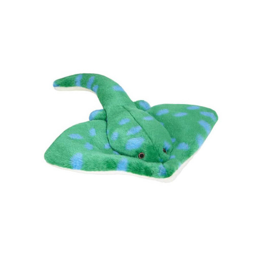 "Fluff and Tuff Gordon Stingray 9"" Dog Toy"