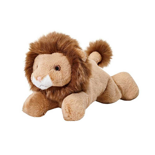 "Fluff and Tuff Leo Lion 7"" Dog Toy"