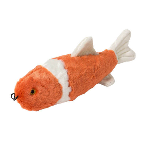 "Fluff and Tuff Finn Koi Fish 14"" Dog Toy"
