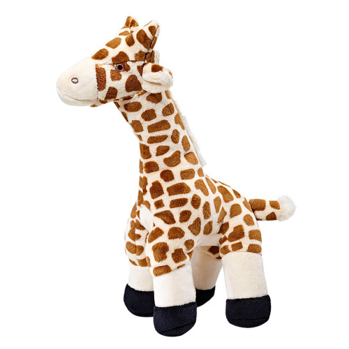 "Fluff and Tuff Nelly Giraffe 13"" Dog Toy"