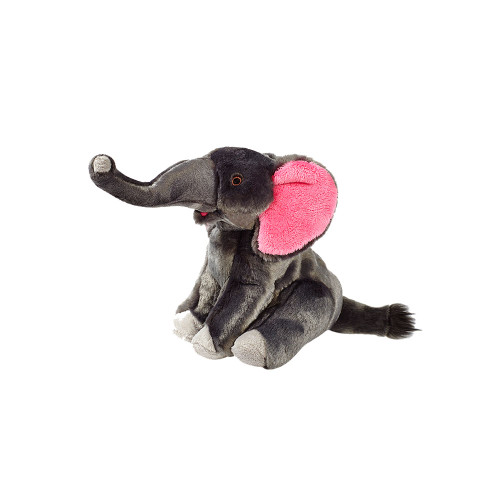 "Fluff and Tuff Edsel the Elephant 10"" Dog Toy"