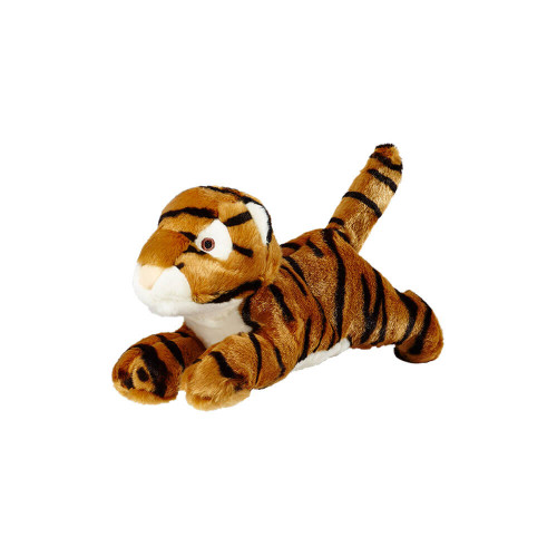 "Fluff and Tuff Boomer Tiger 12"" Dog Toy"