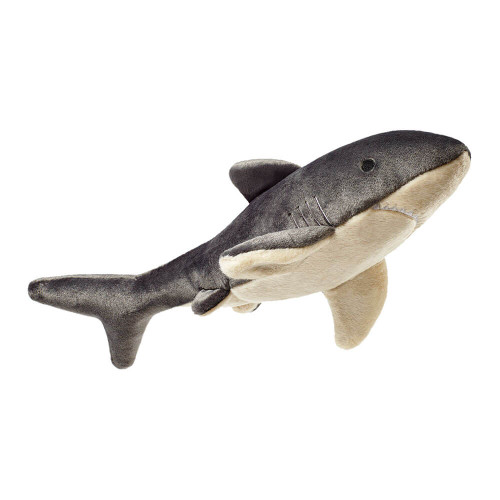 "Fluff and Tuff Mac the Shark 17"" Dog Toy"