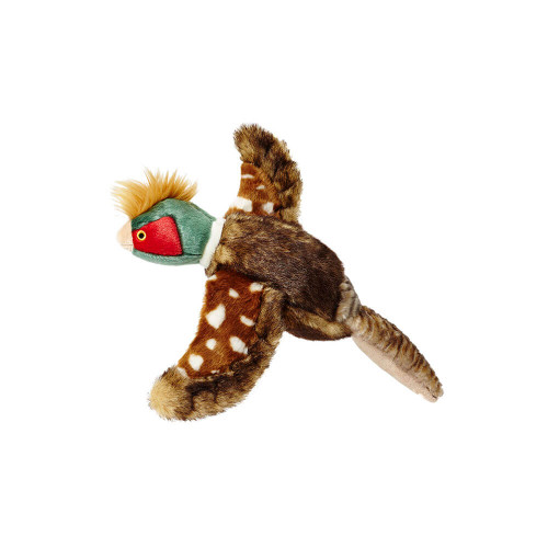 "Fluff and Tuff Ike the Pheasant 12"" Dog Toy"