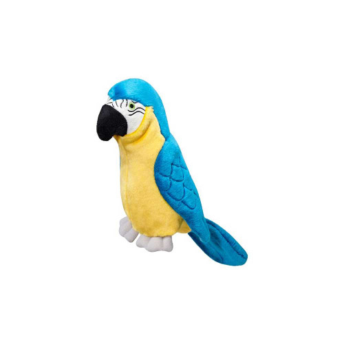 "Fluff and Tuff Jimmy Parrot 15"" Dog Toy"