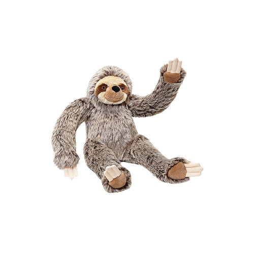 """Fluff and Tuff Tico Sloth 15"""" Dog Toy"""