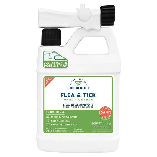 Wondercide Ready-to-Use Flea & Tick Spray for Yard & Garden - 32oz