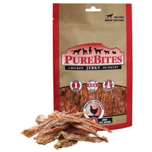 PureBites Chicken Jerky Treats