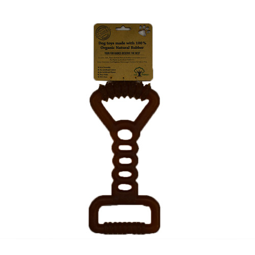 IndiPets Organic Heavy-Duty Studded End Dog Pull