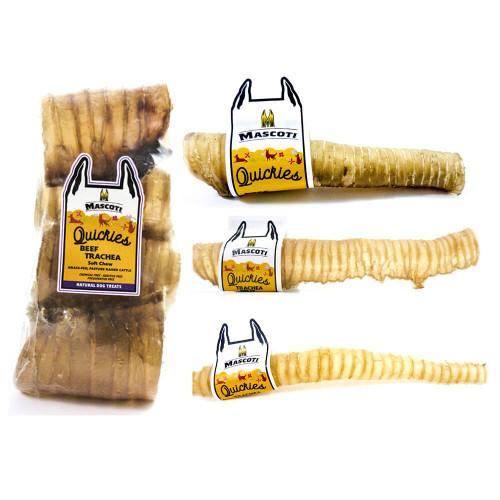 Mascoti Quickies Beef Trachea Chews