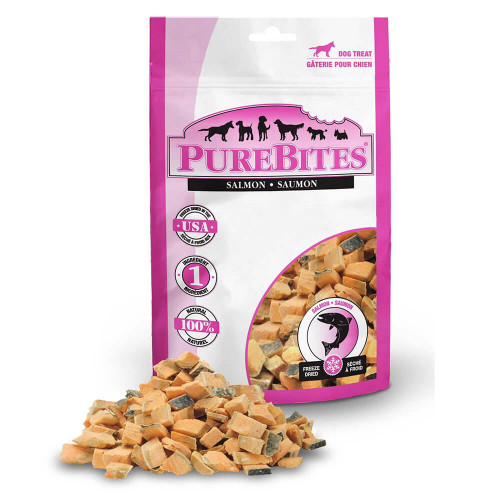 PureBites Freeze-Dried Salmon Dog Treats