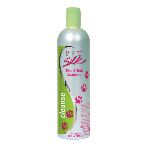 Pet Silk Flea &Tick Shampoo