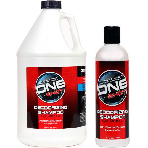Best Shot One Shot Deodorzing and De-Skunk Shampoo