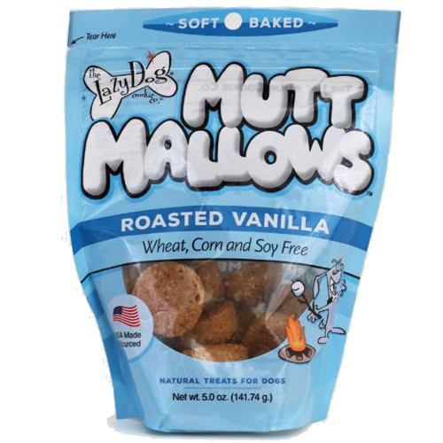 The Lazy Dog Cookie Co. Mutt Mallows Original Roasted Vanilla Dog Treats - 5oz