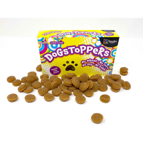 Spunky Pup Nostalgic Boxed Dogstopper Cheese Dog Treats - 5oz