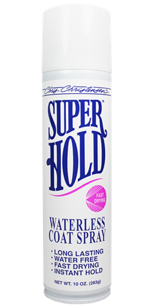 Chris Christensen - Super Hold Waterless Coat Spray, 10 oz Aerosol