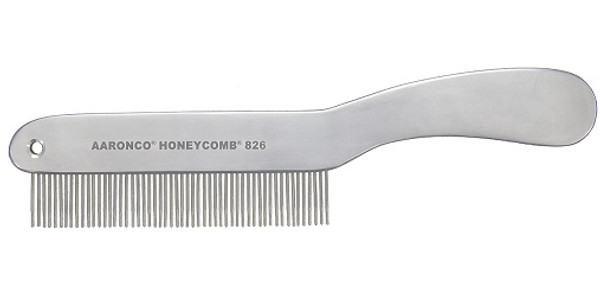 Aaronco - Aluminum Honeycomb 8.5 in Short Hair 51 Medium Teeth 3/4 in Long