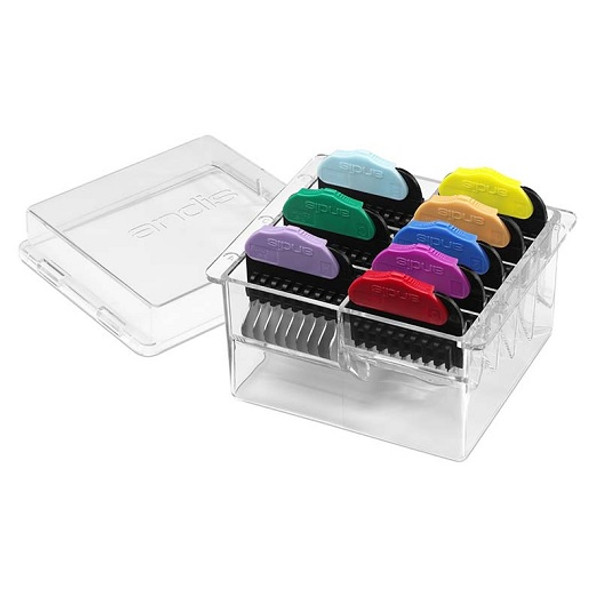 Andis - 8 Piece Steel Animal Clipper Comb Set (AND24585)