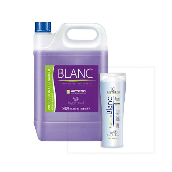 Artero Cosmetics Blanc Shampoo