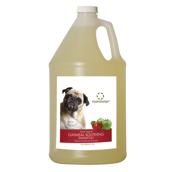 Oster HydroSurge Oatmeal Soothing Shampoo Gallon - Apple Scent