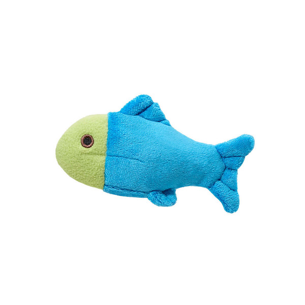 """Fluff and Tuff Molly Fish 4.5"""" Dog Toy"""