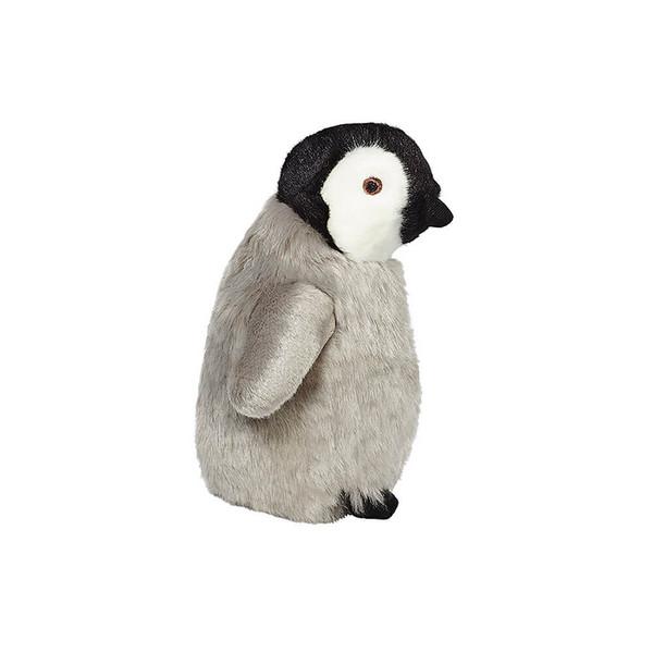 "Fluff and Tuff Skipper Penguin 7"" Dog Toy"