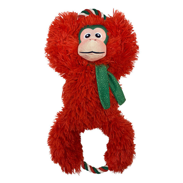 KONG Holiday Tuggz Monkey - Extra Large
