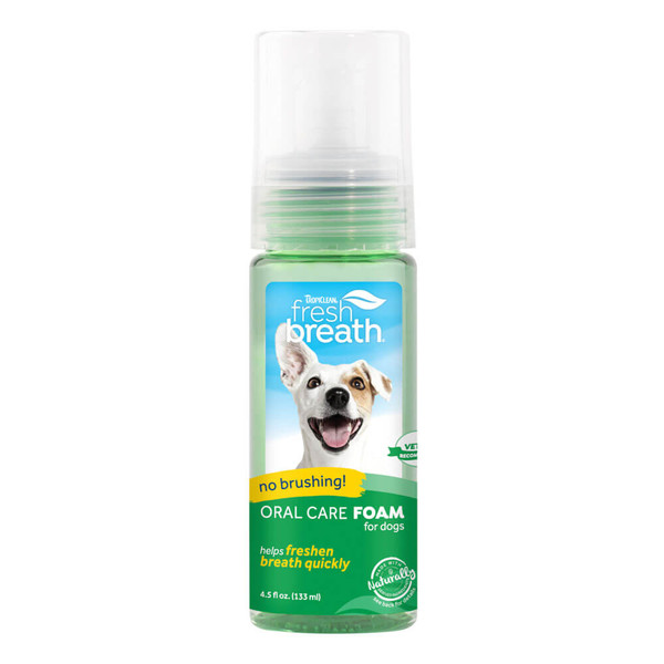 TropiClean Fresh Breath Oral Care Foam