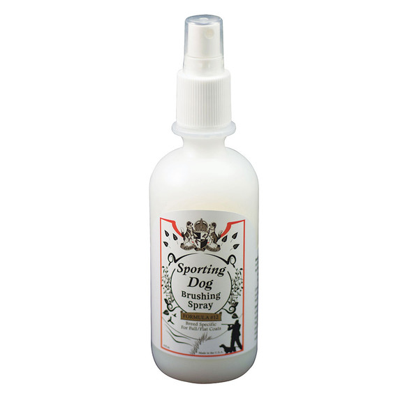 Crown Royale Sporting Dog Formula 12 Brushing Spray for Full and Flat Coats