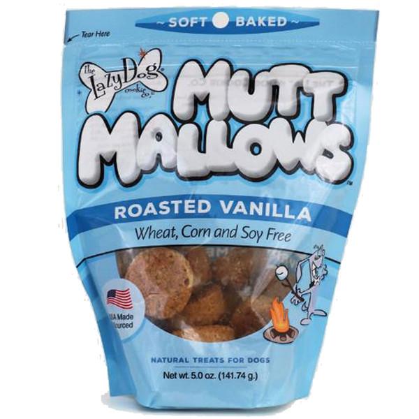 The Lazy Dog Cookie Co. Mutt Mallows Original Roasted Vanilla Dog Treats - 5oz