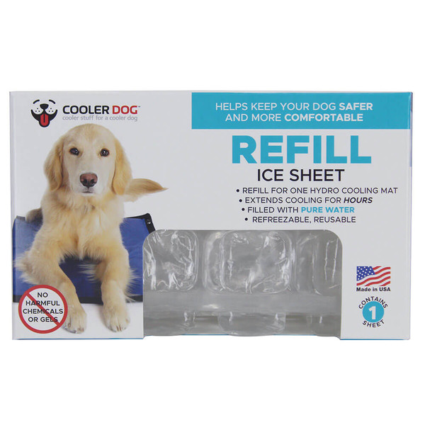 Cooler Dog Hydro Cooling Mat Ice Refill Sheet