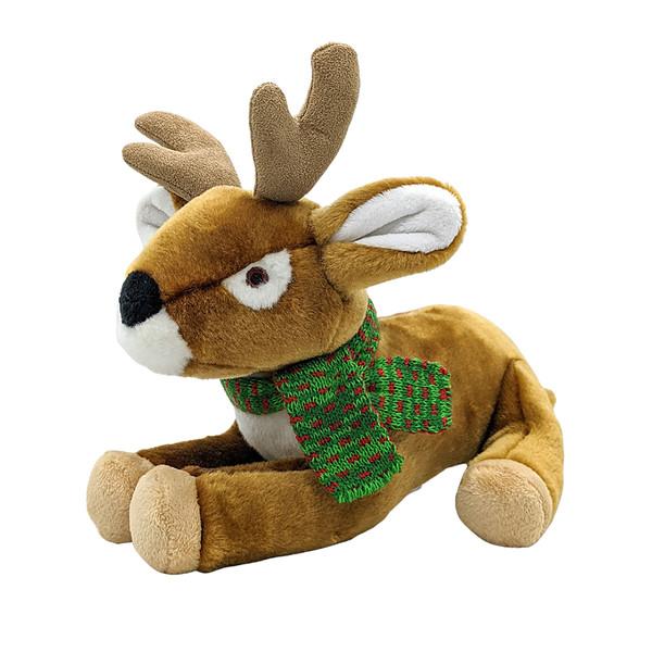 Fluff & Tuff Holiday Reggie Reindeer Dog Toy