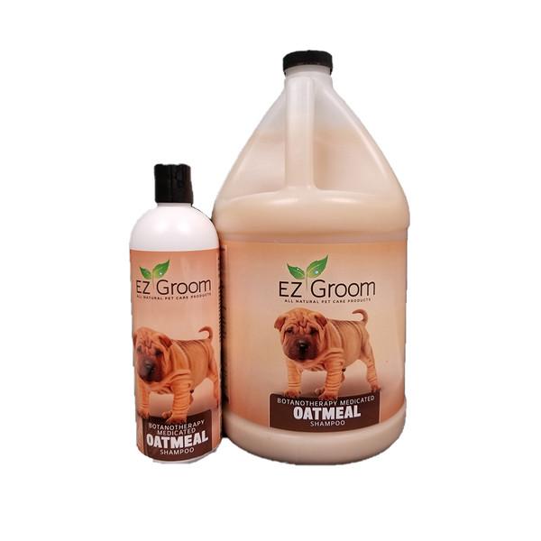 E-Z Groom Medicated Oatmeal Shampoo