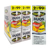 White Owl Cigarillos Duos Mango and Pineapple Box and Foil Pack