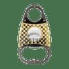 Stainless Steel/Gold 3 Finger Cigar Cutter