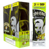 Zig Zag Cigarillos White Grape 3 for $0.99 upright & foilpack