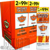 Swisher Sweets Cigarillos Peach upright & foilpack