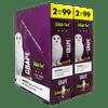 White Owl Cigarillos Grape Box