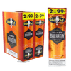 White Owl Cigarillos Honey Bourbon Box and Pack