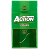Action Filtered Cigars Green 100's Pack
