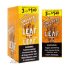 Swisher Sweets Leaf Honey Box and Foil Pack