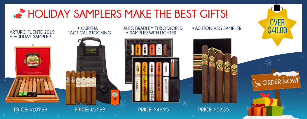 Holiday Samplers Make the Best Gifts! Over $40.00