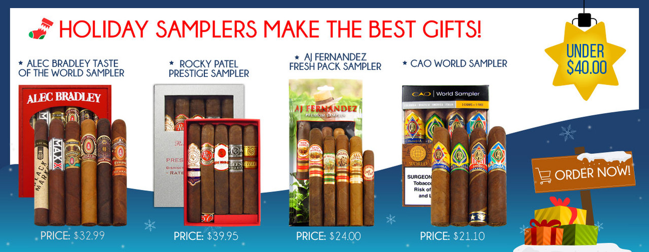 Holiday Samplers Make the Best Gifts! Under $40.00