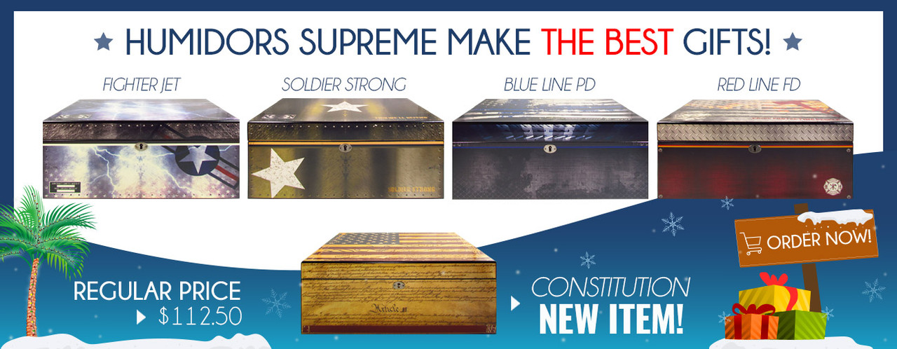 Humidors Supreme! Now in Stock