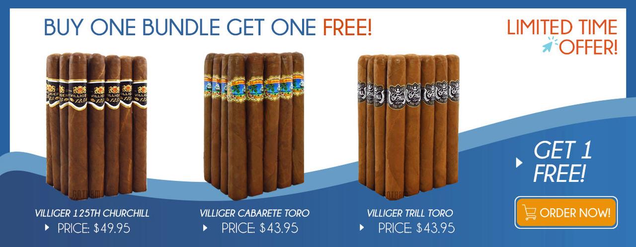 Buy one Villiger Bundle get one GREE!