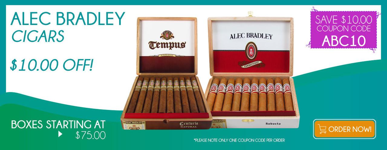 Alec Bradley Cigars $10.00 OFF!