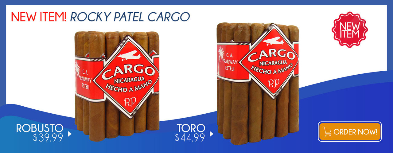 New Item! Rocky Patel Cargo