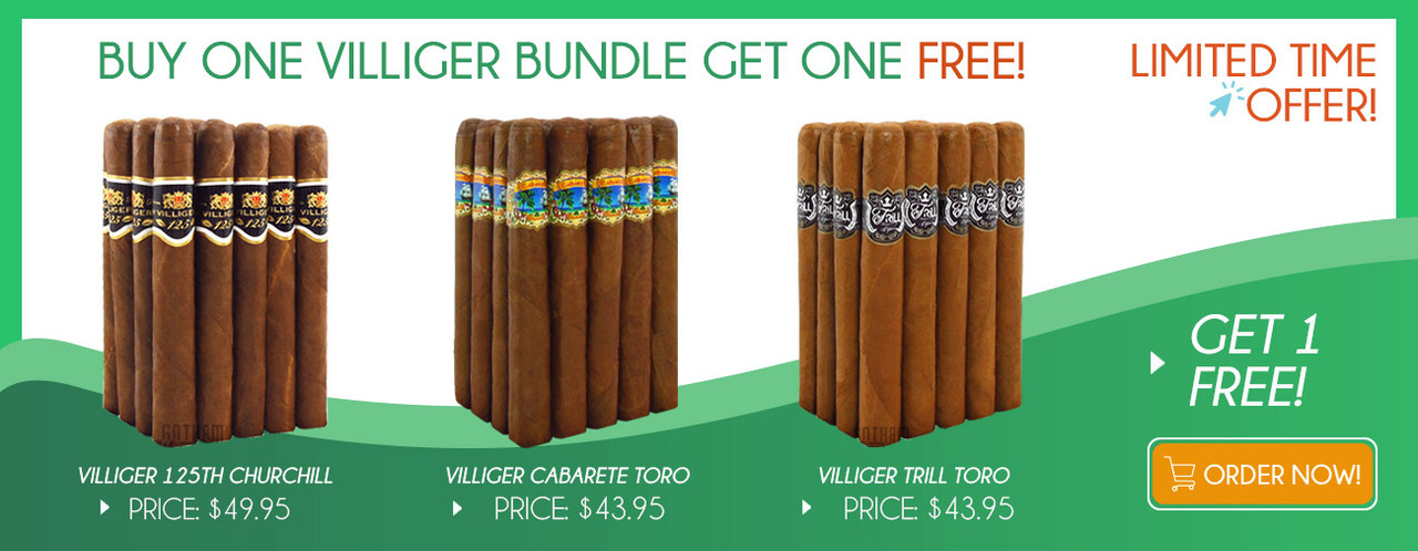 Buy one Villiger Bundle get one FREE!