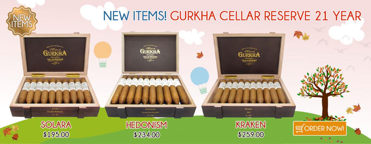 New Items! Gurkha Cellar Reserve 21 Year!