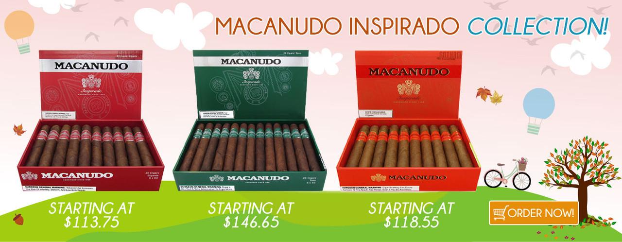 Macanudo Inspirado Collection!